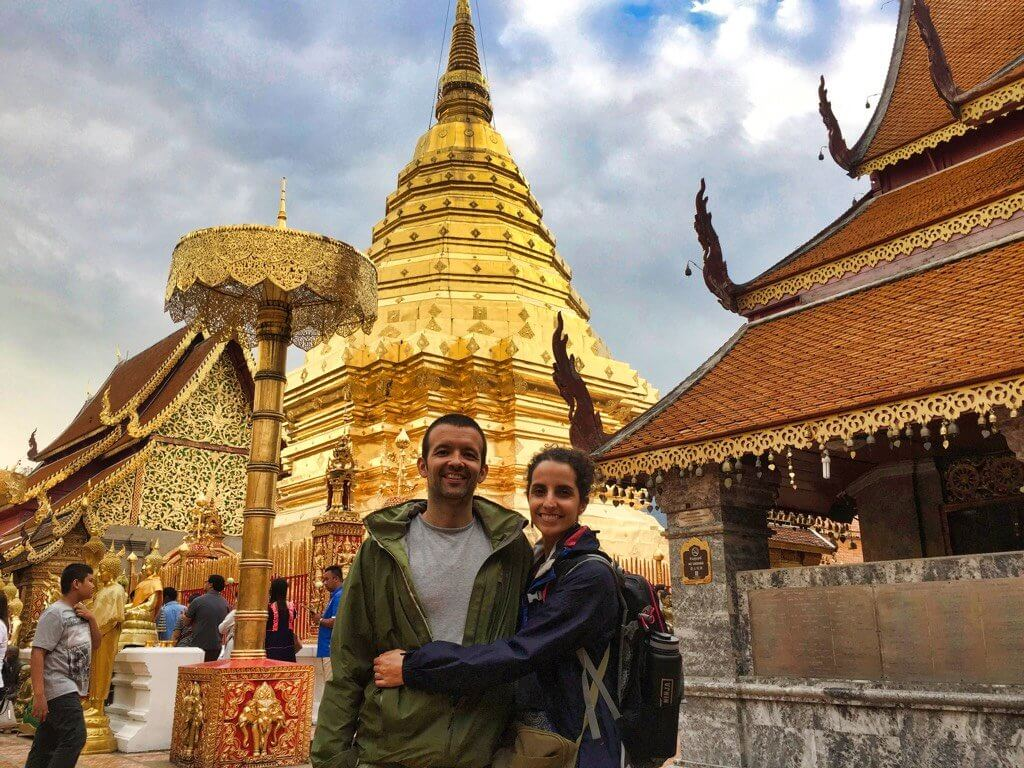Visiting the magnificent Wat Phra That Doi Suthep Temple