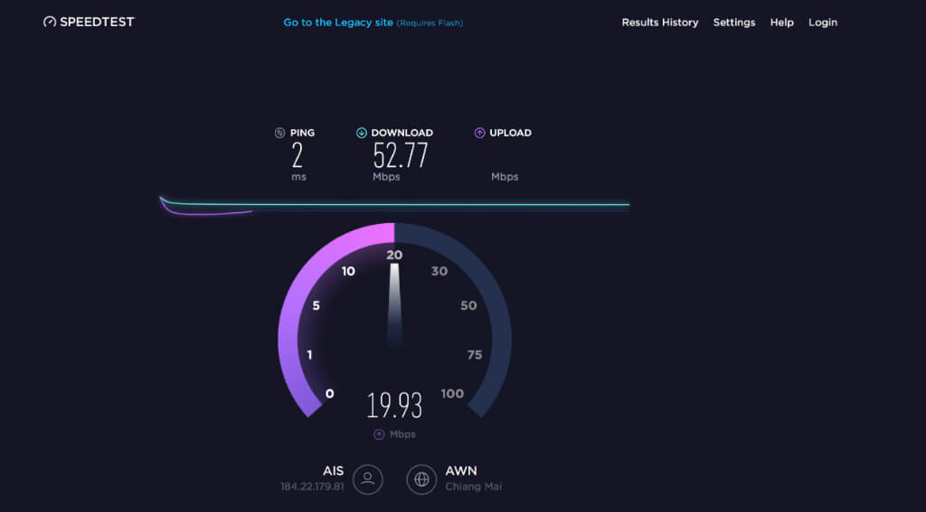Speed test thailand