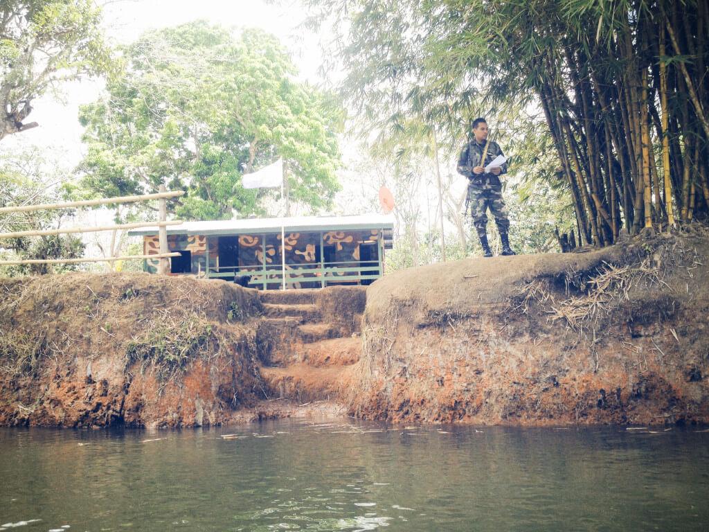water border crossing in nicaragua