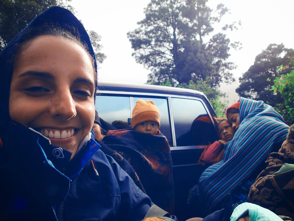 hitchhiking purpose of travel shared transportation