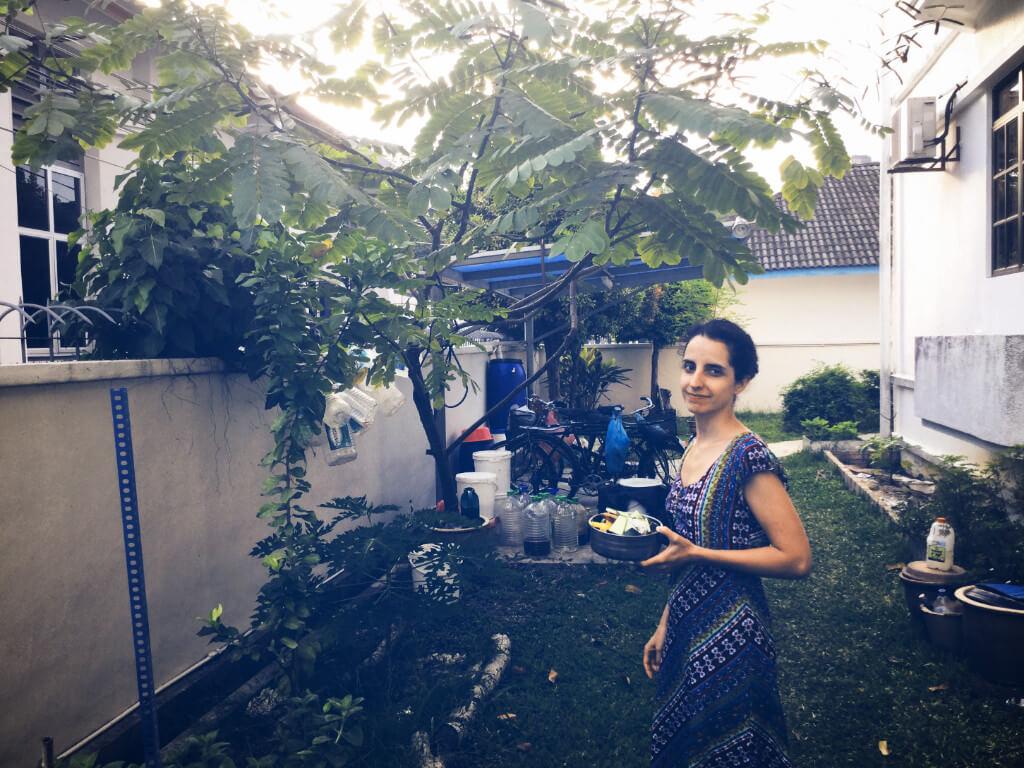 zero waste rot 5rs travel food waste scraps