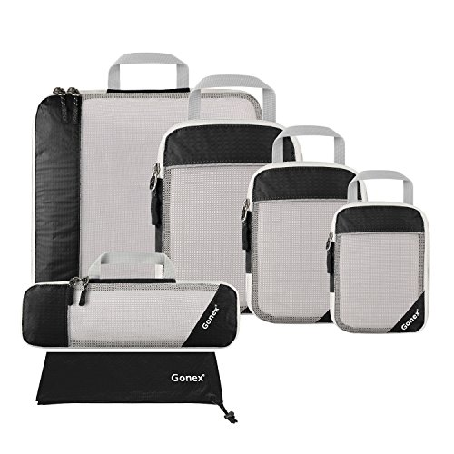 travel accessories packing cubes compression bags traveling clothing air pouch sack dry carry on suitcase