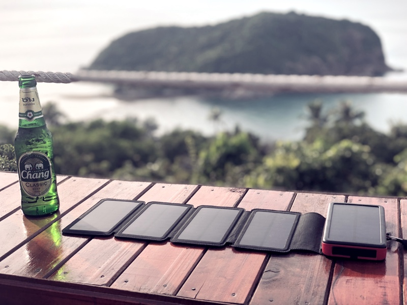 Travel Accessories Series – Energy: Best travel solar panel for digital nomads