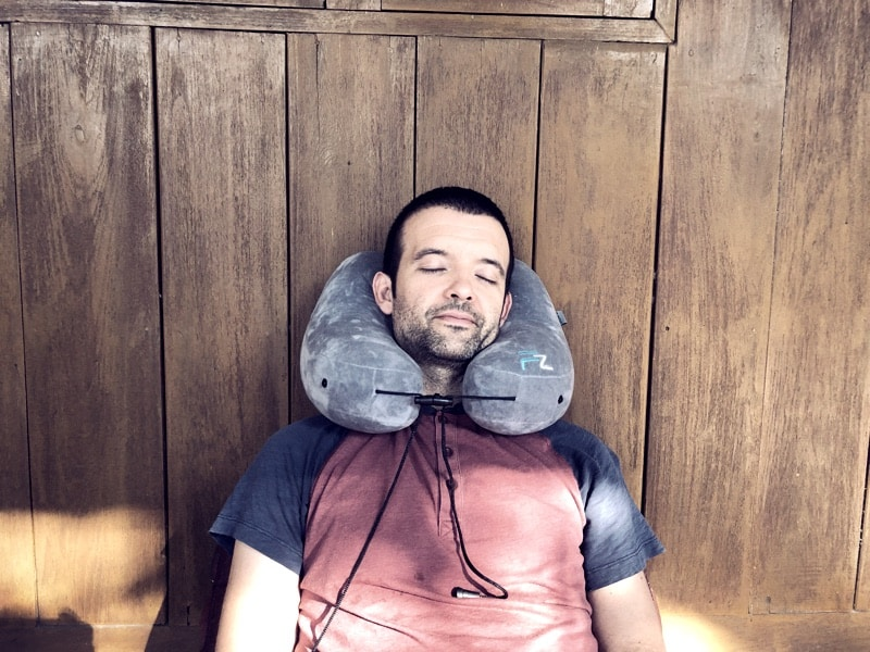 travel pillow massage