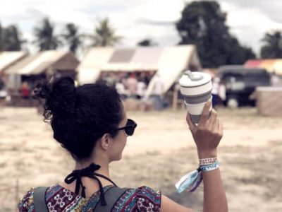 folldable cup zero waste travel